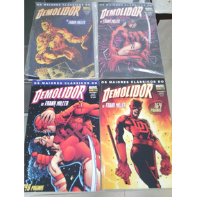 Hqs Maiores Clássicos Demolidor Panini Frank Miller Completo