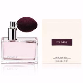 Borrifador 80ml Perfume Prada Tendre Deluxe Eau De Parfum C ... d6dc9f7ddf