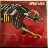 April Wine - Animal Grace - 1984 - Lp Vinil Hard Rock