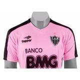 Camiseta Treino Rosa Atlético Mineiro Topper 2010 Galo