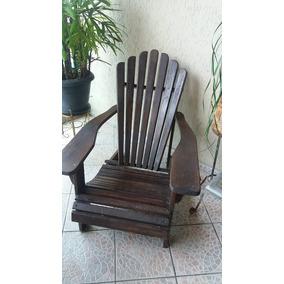 Cadeira Pavão Americana - Madeira De Lei