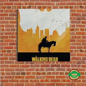 Co.junto Com 5 Quadros The Walking Dead