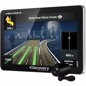 Gps Aquarius Discovery Mtc3842 Tela 4.3 Tv Digital Camara Ré