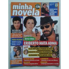 Minha Novela 105 2001 P Milagres Silvio Santos Thalía Spanic