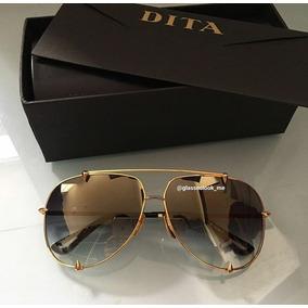 63f54d3cc14de Oculos Dita Talon Aviador - Óculos no Mercado Livre Brasil