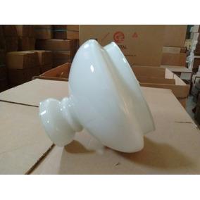 Cupula De Vidro Leitoso 16,5