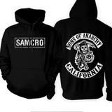 01e2dbf54d Canguru Moletom Samcro Sons Of Anarchy Bandas Moleton Capus