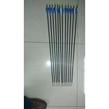 Flecha De Fibra De Vidrio 80cm 12 Unidades