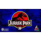 Espectacular Pendon Jurassic Park 20 Aniversario + Obsequio.