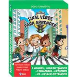 Coleção Sinal Verde P/ Aprender Educação Trânsito - Promoção