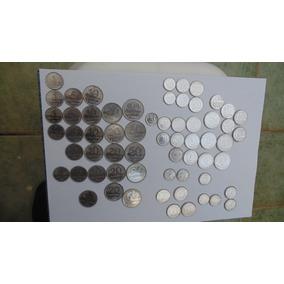 Moeda Antiga 1 2 5 10 20 50 Centavos - Complete Sua Coleção