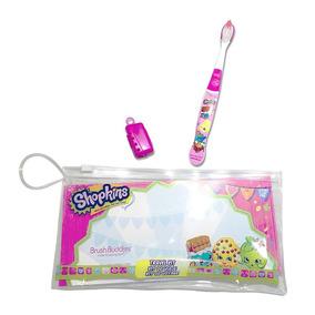 Shopkins Cepillo Dental Suave Kit De Viaje Con Cartuchera