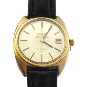 Omega Constellation Automático Relógio Todo Em Ouro J10932