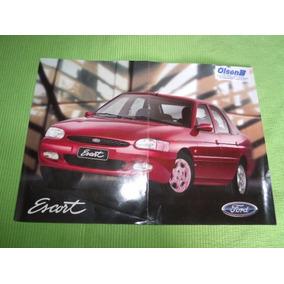 Folheto Folder Venda Ford Escort Zetec Frete Grátis