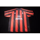 7846cdc08f Camisa Milan 2004 - Camisa Milan Masculina no Mercado Livre Brasil