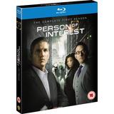 Person Of Interest - 1ª Temporada [blu-ray] Original - Lacra