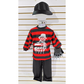 Disfraz Freddy Krueger Niños Halloween Garra Envio Gratis