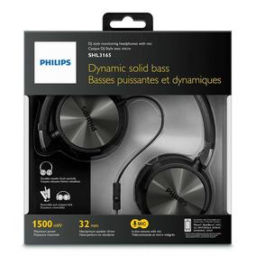 Headphone Philips Shl3165bk/00 - Preto