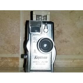 Filmadora 8 M M Keystone Bel Air K 42 Mede In U,s,a,
