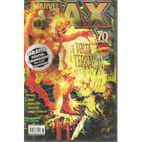Marvel Max 65 Com Poster - Panini - Bonellihq Cx17 I17