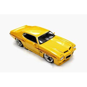 Miniatura Pontiac Gto 1971 Jada Toys 1:24 Amarelo