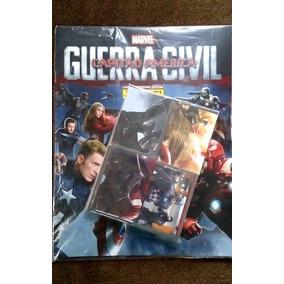 Album Capitão America Guerra Civil Completo P/colar R$ 79,90