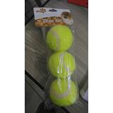 Pacote C/ 3 Bolas De Tenis Art Pet