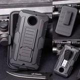 Funda Case Con Clip Para Motorola Moto Z Play Uso Rudo Tripl