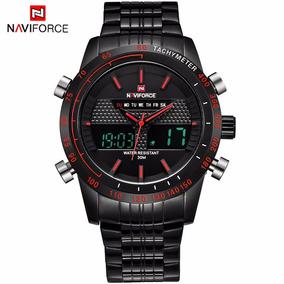 cebf973b6dd Relógio Naviforce Original Analógico Digital Pronta Entrega ...