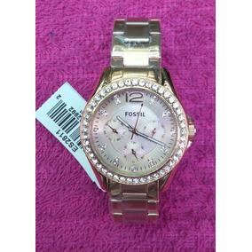 01a8f489618e Reloj Fossil Para Mujer Blanco Con Dorado Oferta  40 - Relojes ...