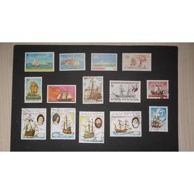 Séries Temáticas - Barcos - 14 Selos - L - 634