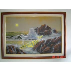 Cuadro Original De Gonzalo Endara Crow...sol De Agua!!!