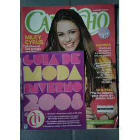 Revista Capricho Miley Cyrus