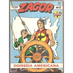 R5 - Zagor Nr 17 - Odisséia Americana - Ed. Record - 1991