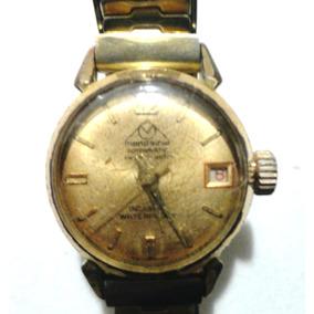 fa9d1b46521 Relógio De Pulso Feminino Mondaine Rotormatic Vintage Corda