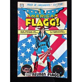 Hq American Flagg Os 4 Primeiros Números Howard Chaykin