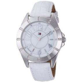 cc060f51db4 Relogio Tommy Hilfiger Feminino Couro Branco - Relógios De Pulso no ...