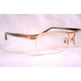 Armação Oculos De Grau Cartier Masculina Dourada - Óculos no Mercado ... fa4772ce83