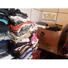 95de8570c72 Lote Roupas Semi Novas Usadas Bazar  brecho doação - Calçados ...