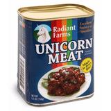 Conserva Carne De Unicornio Enlatada 155g Original Thinkgeek