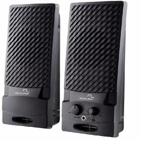 Caixa De Som 2.0 Multilaser 1 W Rms Standard Usb Sp050
