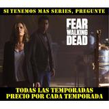 Pelicula Serie Tv Dvd Fear The Walking Dead Temporadas Todas