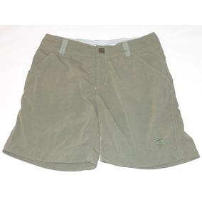 Mountain Hardwear Short De Dama Talla 4 X S Verde Nuevo!!!