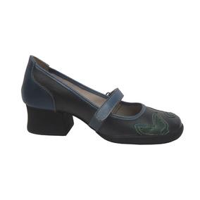 7bc59b291 Sapato Boneca Opananken - Scarpins para Feminino Azul marinho no ...