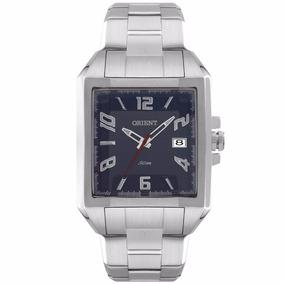 Relógio Masculino Orient Analógico Prata Gbss1049