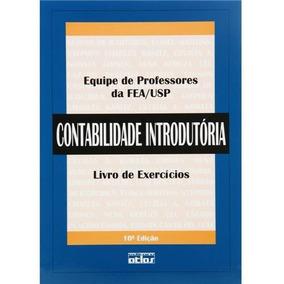 Contabilidade Introdutória (exercícios) 10ª Ed.-igual Novo