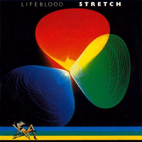 Cd Stretch Lifeblood 1977/1990 Repertoire Records!!!
