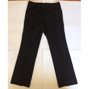 Pantalones Vestir Gucci Acampanados Negros Talla 46 Italiana