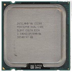 Procesador Intel Pentium E5200 De 2.5ghz 2mb Dual-core Lga77
