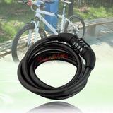 Cadeado De Segredo Espiral Aço Bike Ciclismo Bicicleta Moto